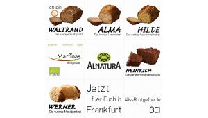 Martinas #Brotgefuehle erobern Alnatura in Frankfurt