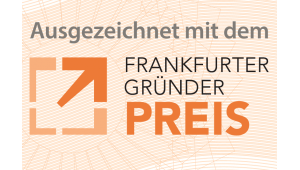 MARTINAS BROTGEFUEHLE mit dem Gründerpreis der Stadt Frankfurt ausgezeichnet